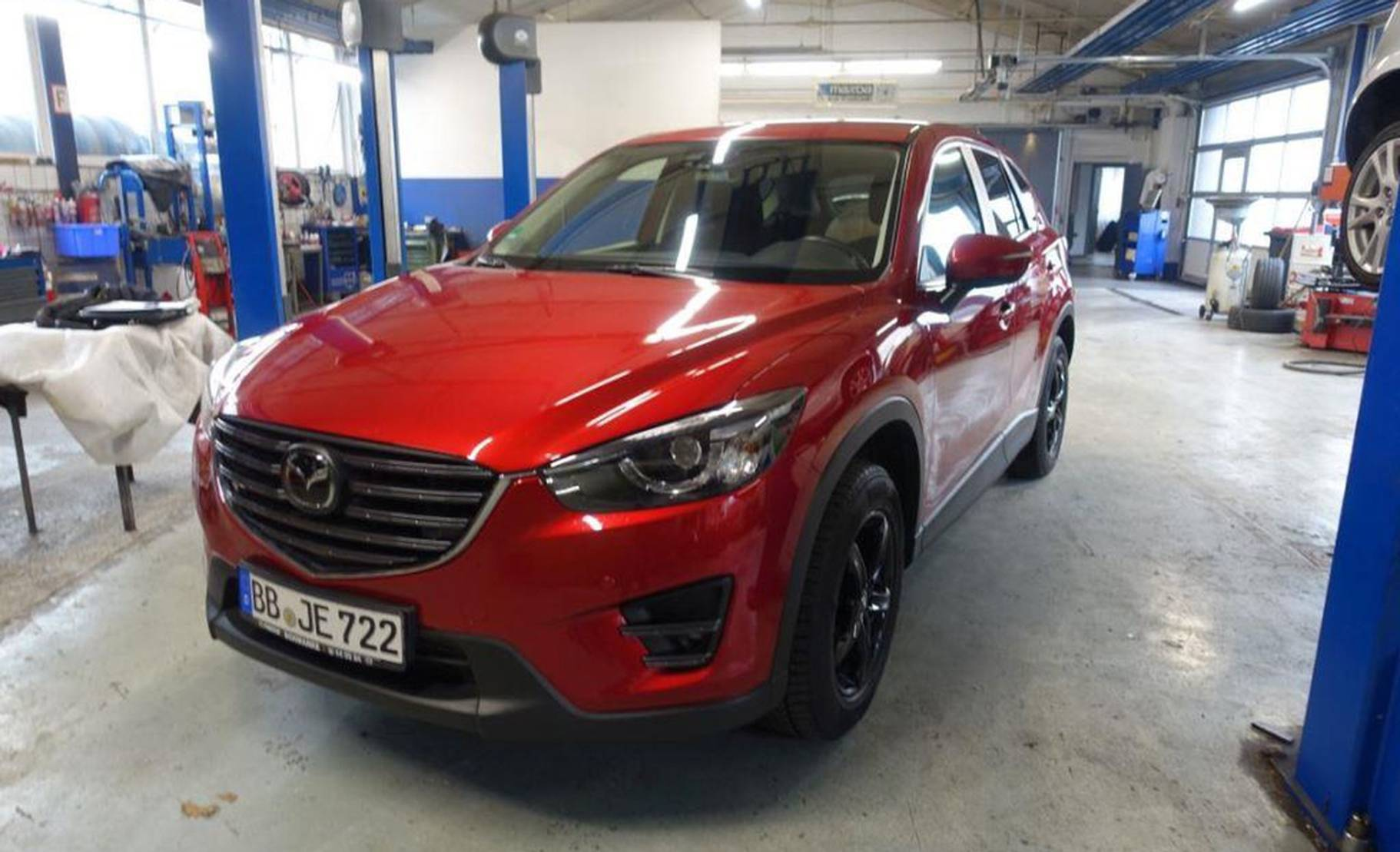 Mazda CX-5 SKYACTIV-D 175 Drive AWD Sports-Line LED detail1