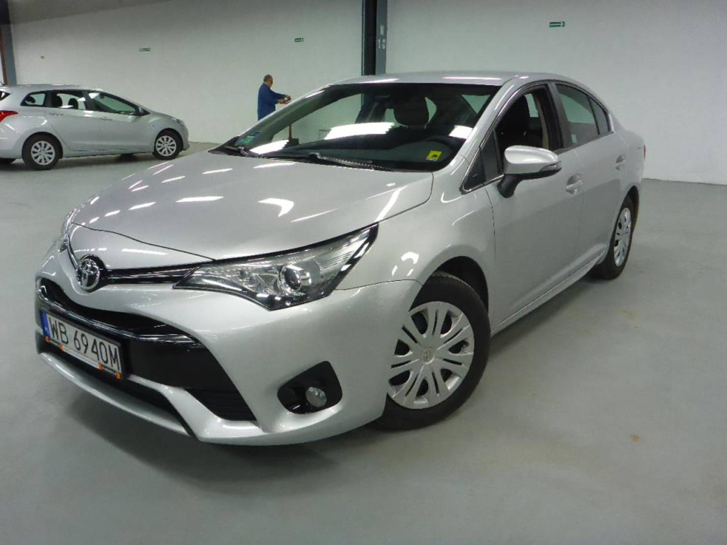 Toyota Avensis 1.8 147km Valvematic Active detail1