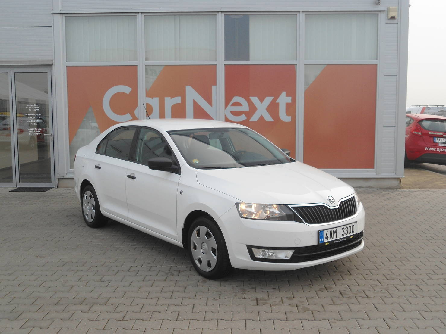 Škoda Rapid 1.6 TDI Active detail1