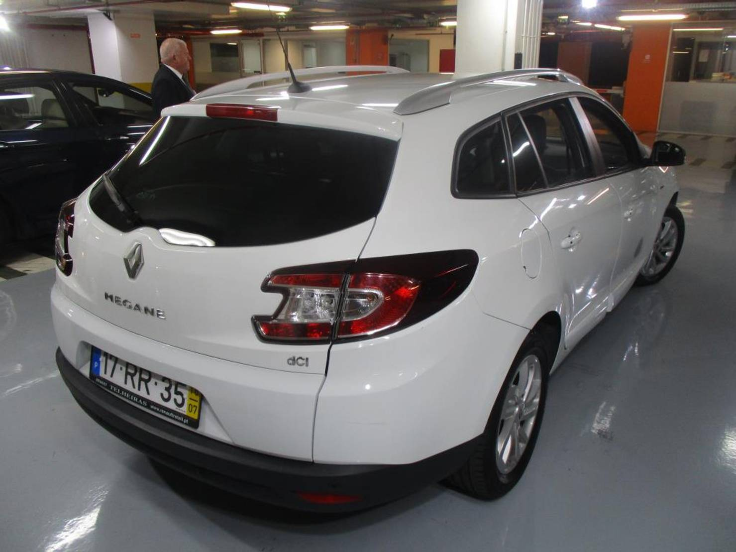 Renault Mégane ST 1.5 dCi Limited SS detail2