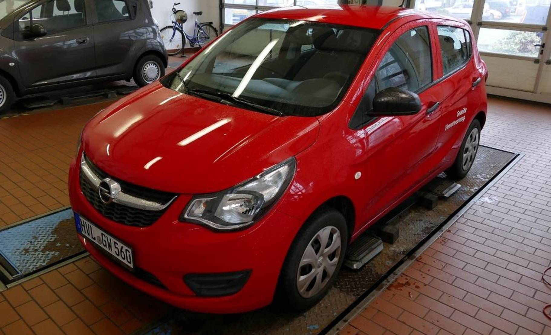 Opel KARL 1.0 Selection Klimaanlage detail1