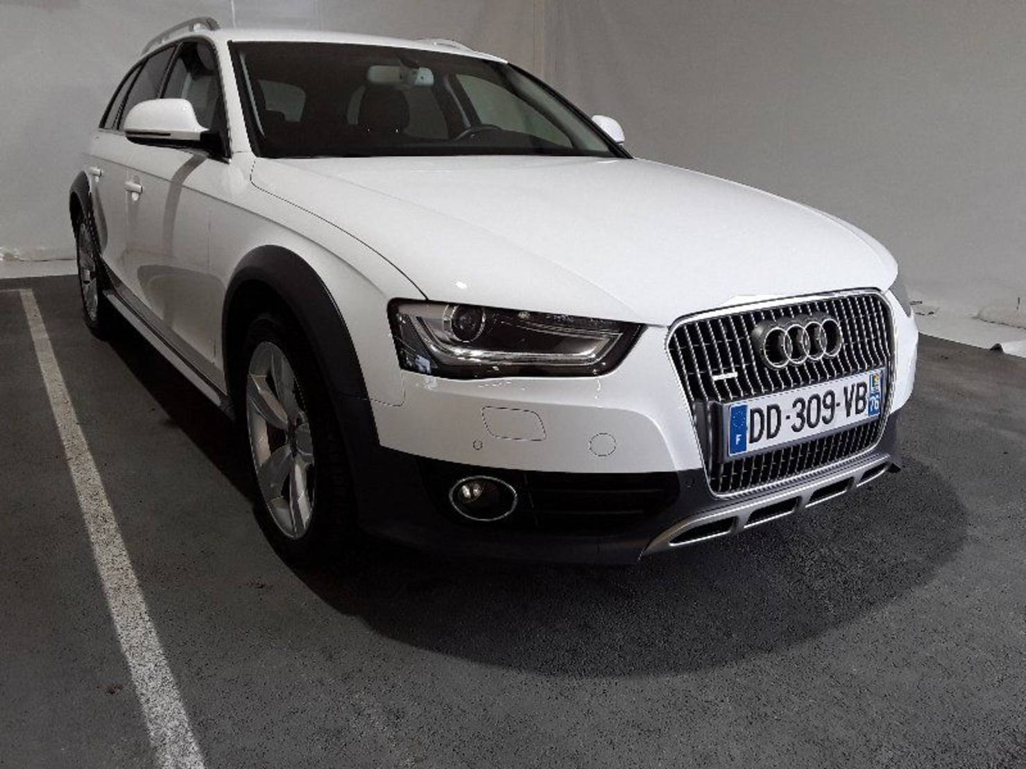 Audi A4 Allroad 2.0 TDI 177 DPF, Ambition Luxe S Tronic detail1