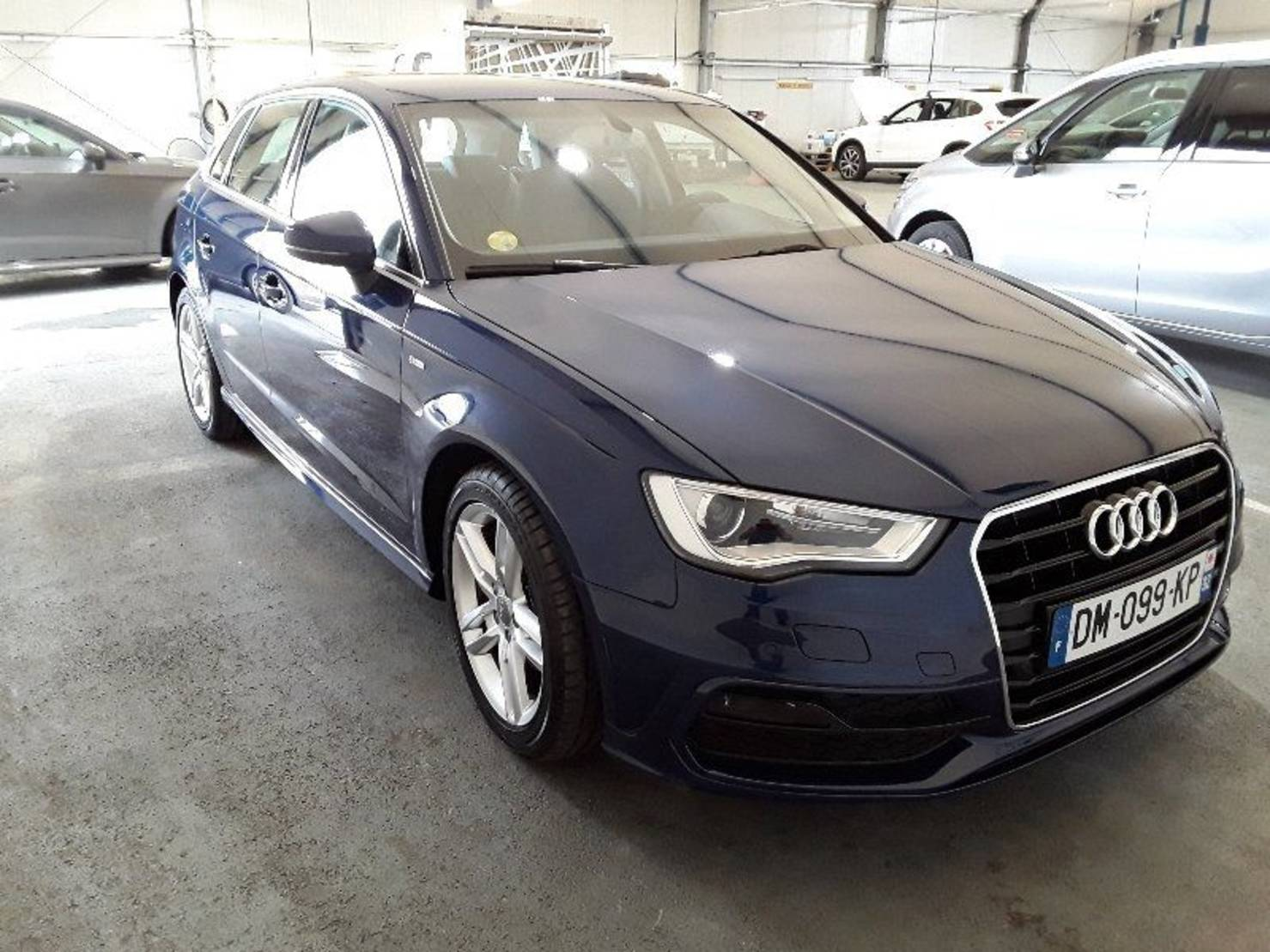 Audi A3 1.6 TDI 110, Ambition Luxe S tronic 7 detail2