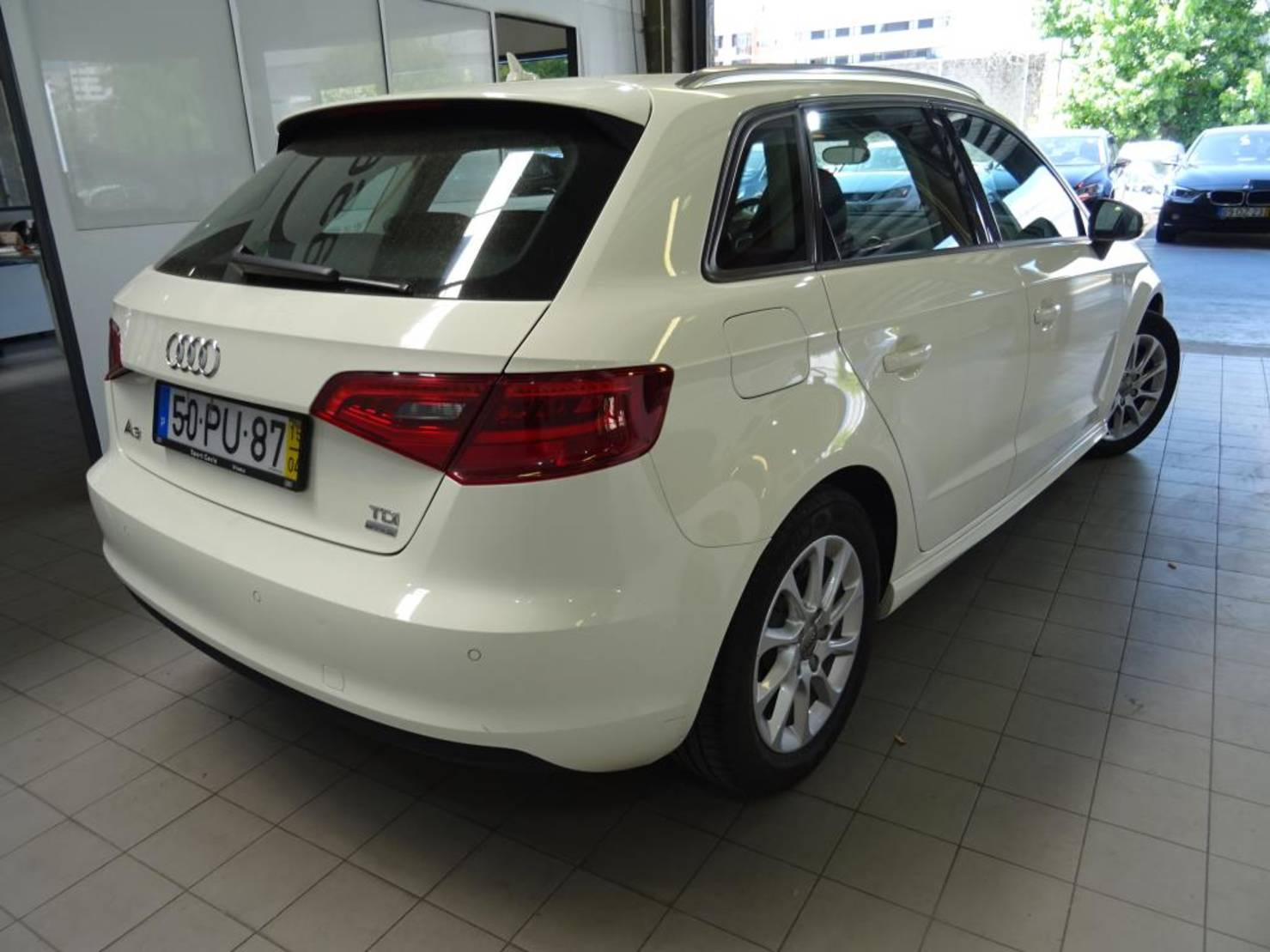 Audi A3 1.6 TDI Sportback ultra, Attraction detail2