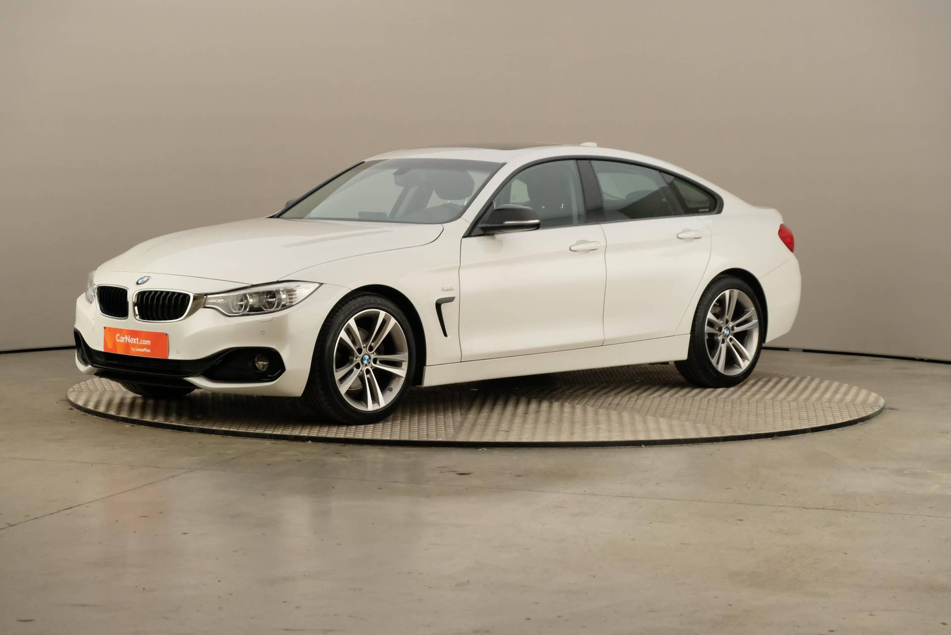 BMW 4 gran coupé 420 dA SPORT LINE LED GPS PROF PDC OPEN DAK/TO HARMAN KARDON, 360-image0