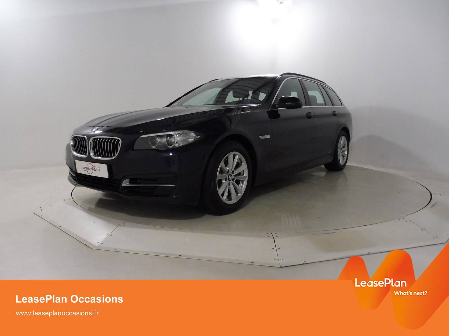 BMW 5 Serie Touring 520d 190 ch, Lounge Plus A detail1