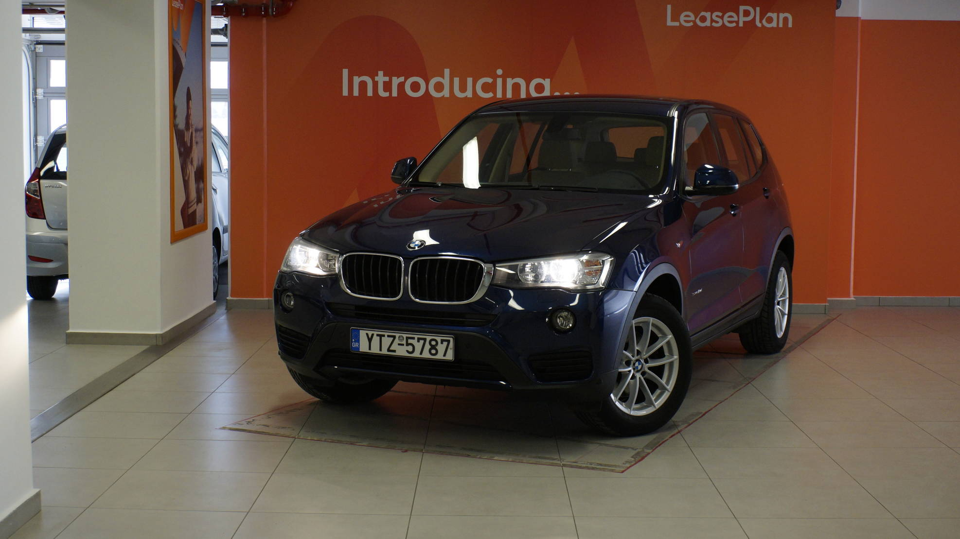BMW X3 2.0 sDrive18d 150hp detail2