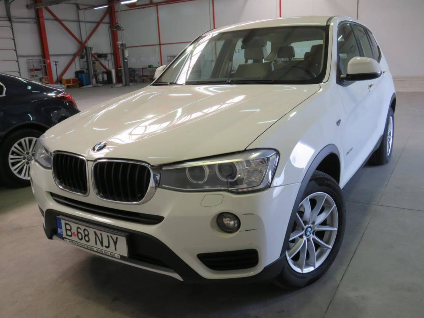BMW X3 xDrive20d Aut. detail1