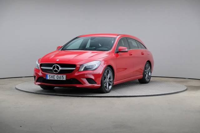 Mercedes-Benz CLA-Klasse 200 CDI Shooting Brake-360 image-34
