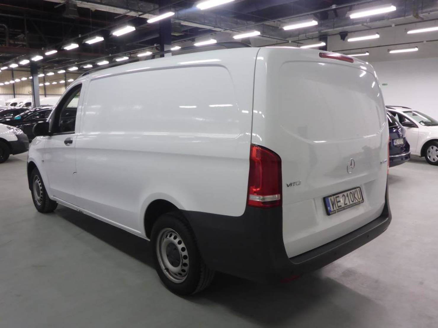 Mercedes-Benz Vito 116 CDI 163km Long Climatronic LED PL detail2
