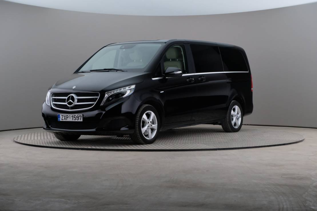 Mercedes-Benz V-Class V 250 BlueTEC Avantgarde Long 7g-tronic plus 190hp/εγγύηση χλμ, 360-image0