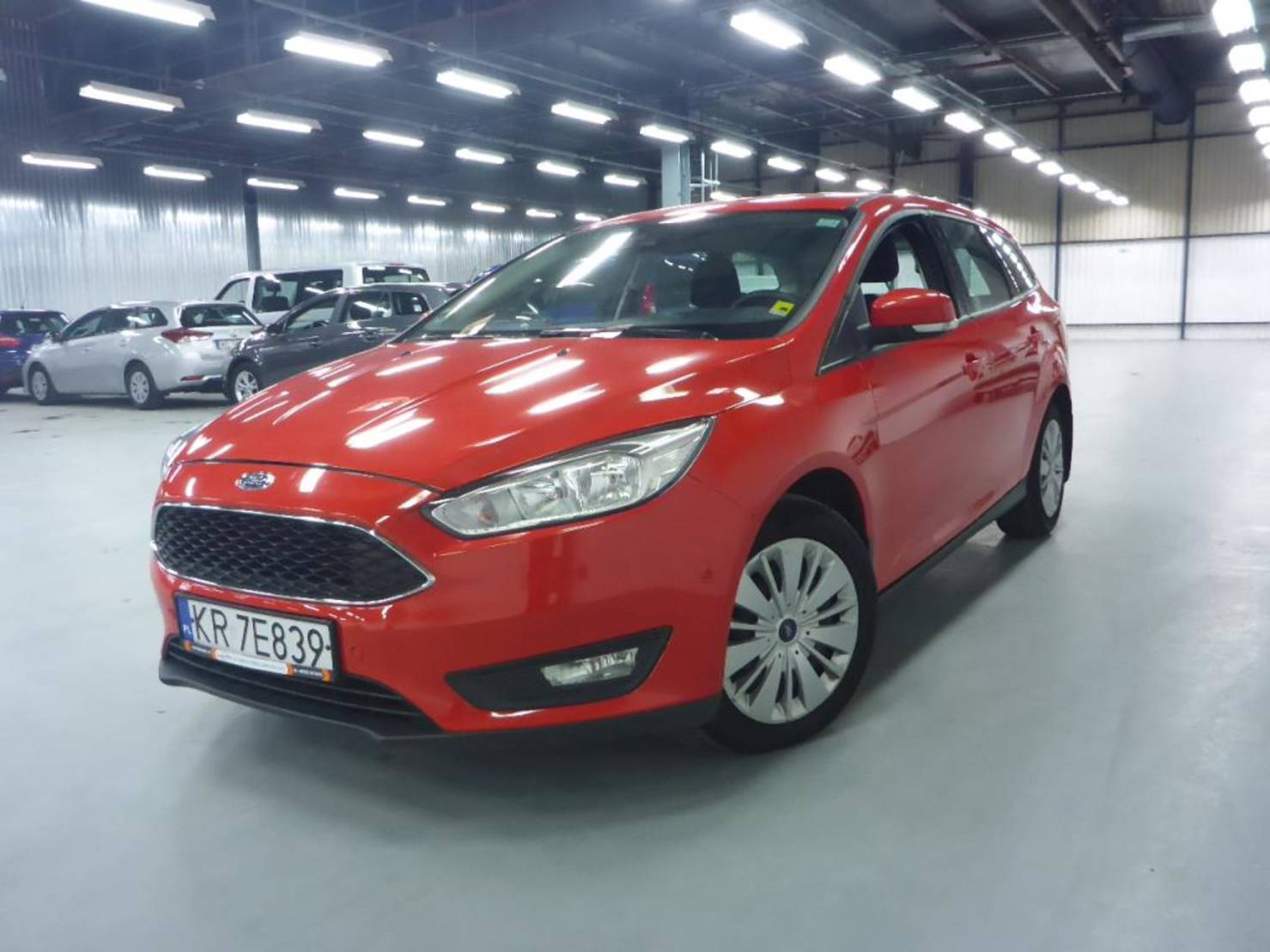 Ford Focus Turnier 1.5 TDCi 120KM Trend Salon Polska detail1