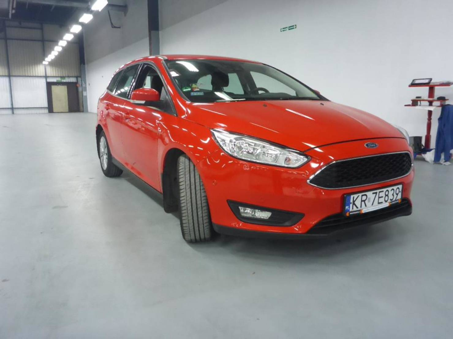 Ford Focus Turnier 1.5 TDCi 120KM Trend Salon Polska detail2
