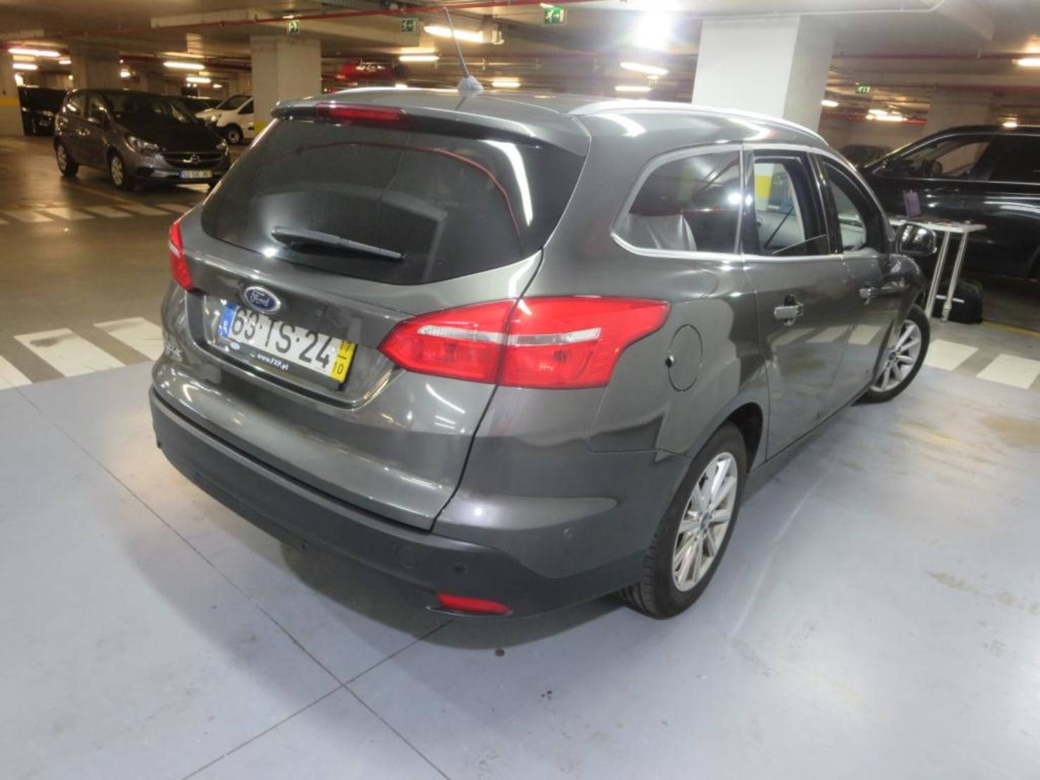 Ford Focus Turnier 1.5 TDCi DPF Start-Stopp-System, Titanium detail2