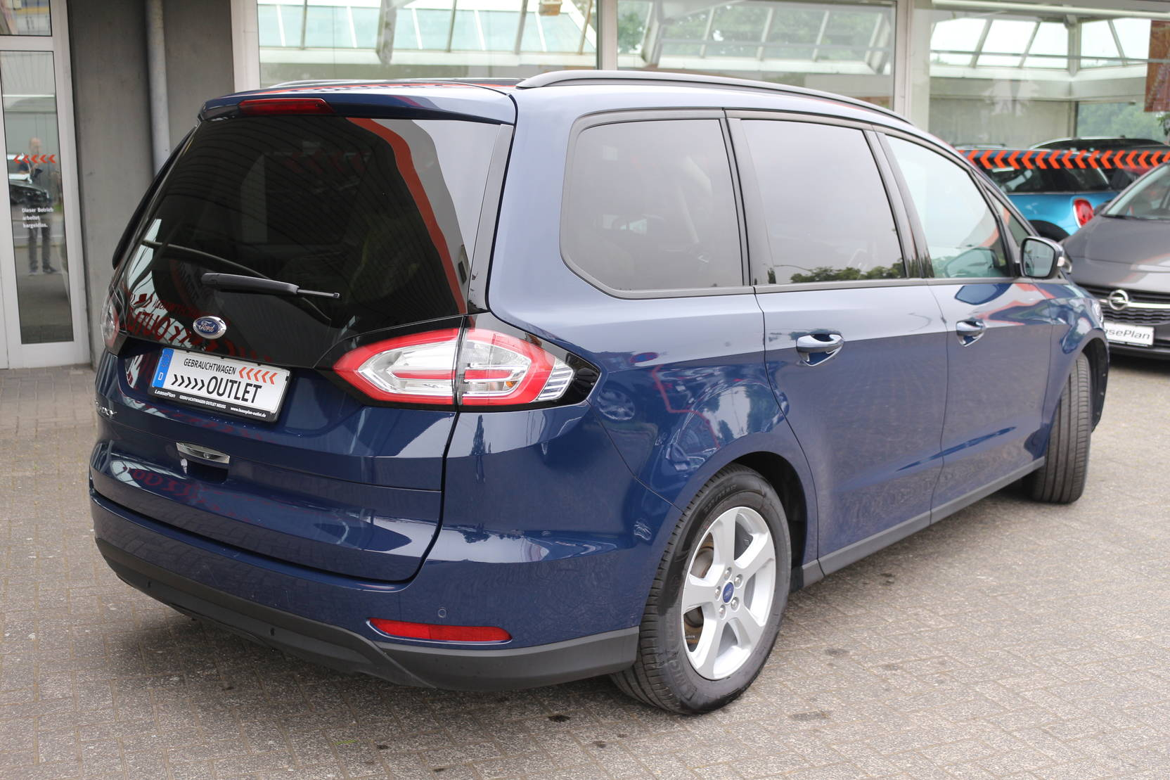 Ford Galaxy 2.0 TDCi Business 7 Sitzer (647469) detail2
