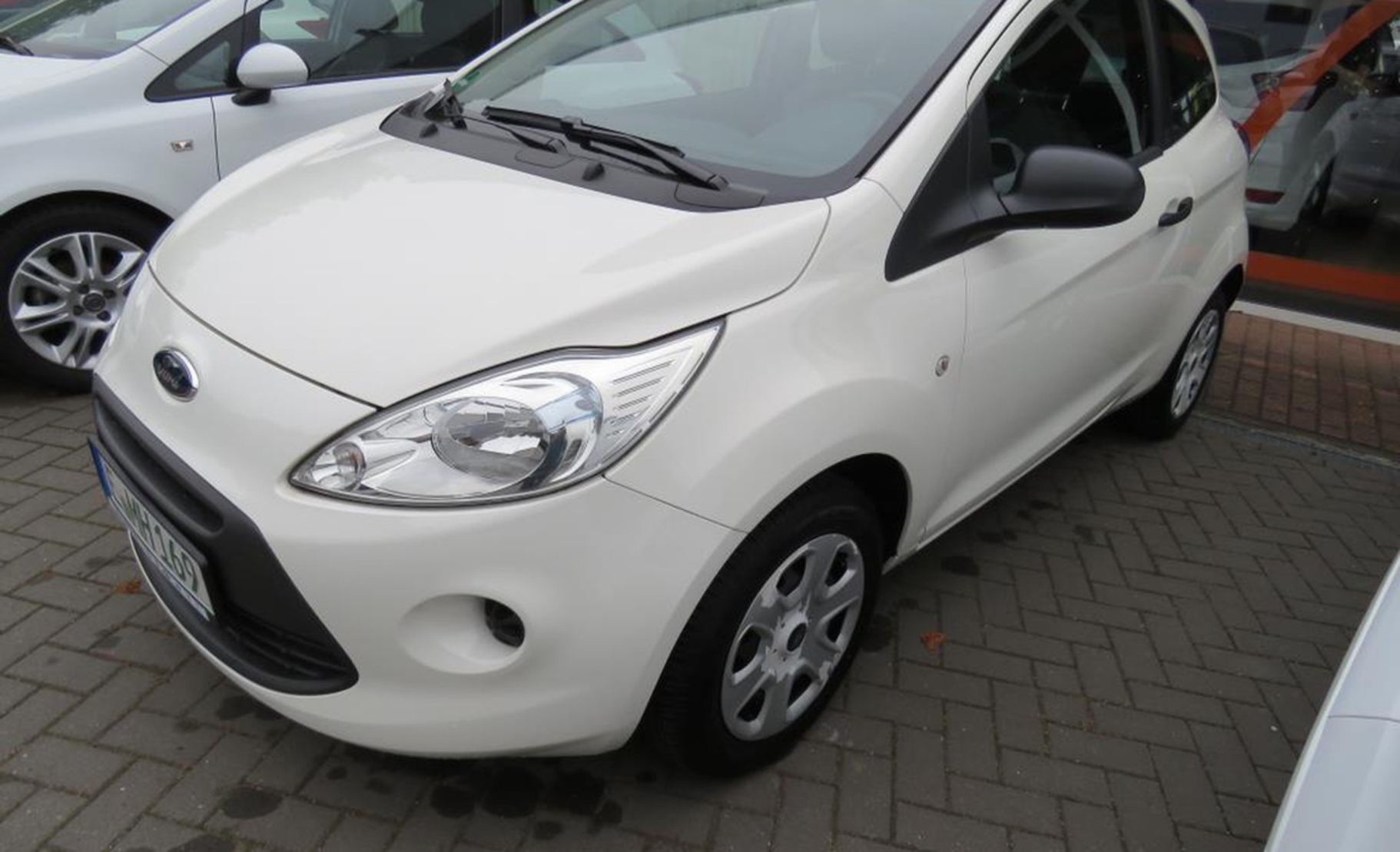 Ford Ka   Start Stopp System Ambiente  Detail