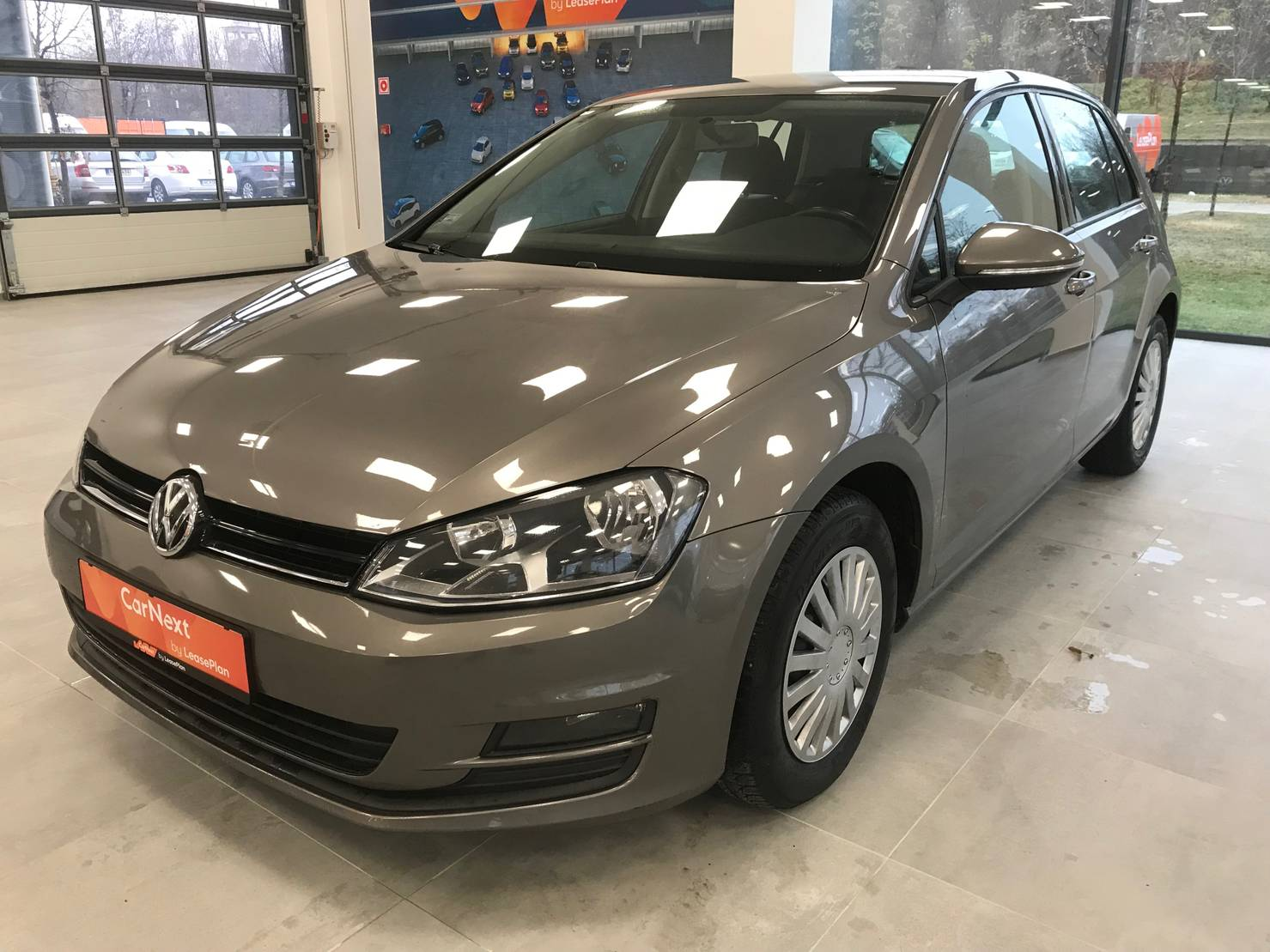 Volkswagen Golf 1.6 TDI BlueMotion Technology, Trendline detail1
