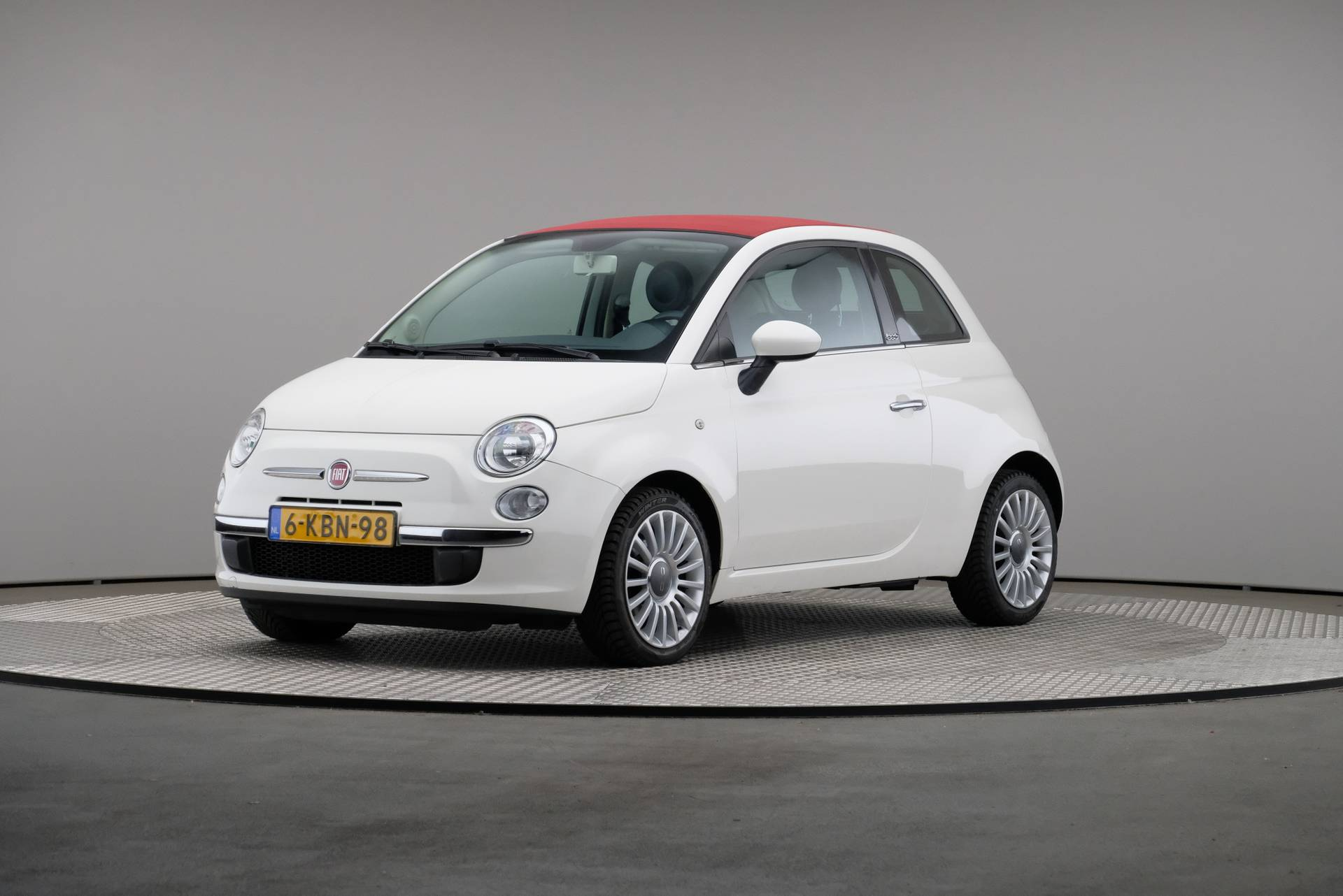 Fiat 500C TwinAir Turbo 85 Lounge, Airconditioning, 360-image0